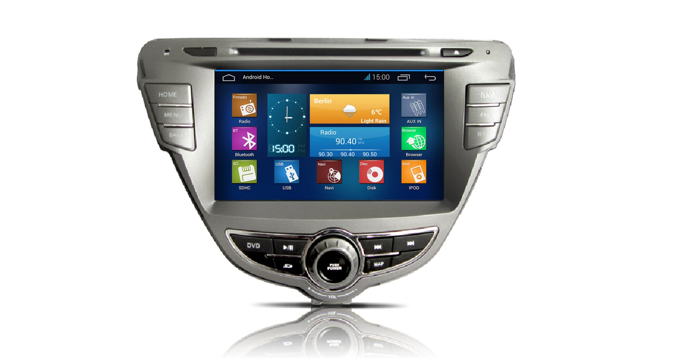 Car Radio Naviceiver Moniceiver Android 4 1 A9 Wifi Bt Gps