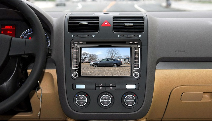 7 hd autoradio gps navi bluetooth dvbt ipod vw golf 5 6 passat caddy skoda seat ebay. Black Bedroom Furniture Sets. Home Design Ideas